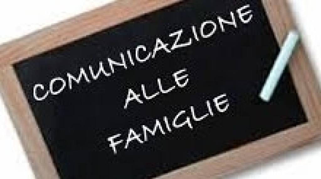 Comunicazione alle famiglie